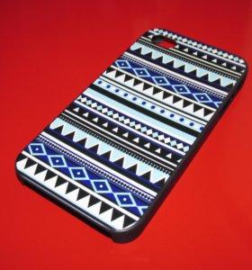 Пластиковый чехол Aztec на iphone 4/4S