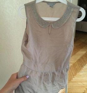 Блуза шифоновая, 42 размер