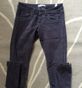 Вельветовые штаны, 25-26 размер