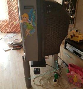 Телевизор б/у и подставка