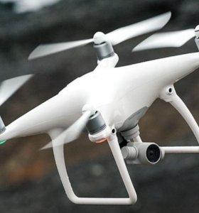 Аэросъемка с квадрокоптера