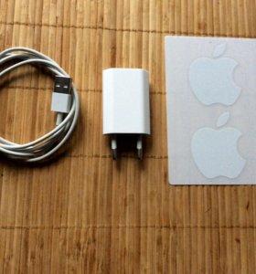 Зарядка оригинал новая для iPhone 5/5s 6/6s ipad