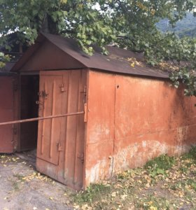 Металлический гараж