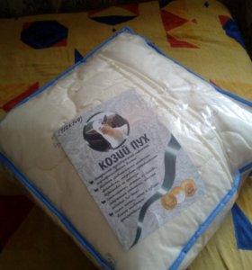 Одеяло, 110x140. Козий пух.