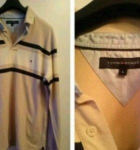 Лонгслив и рубашка Tommy Hilfiger