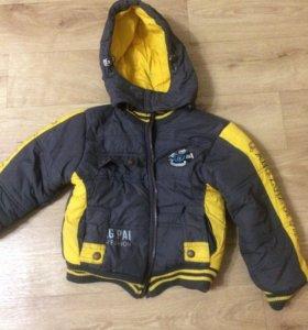 Куртка зима на мальчика Рост 104