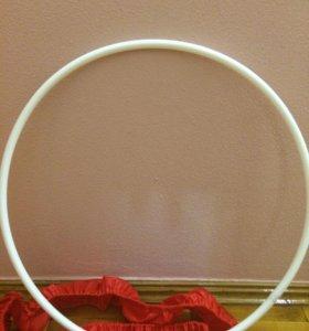 Обруч и скакалка для худ.гимнастики