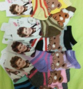 Носки для мальчика и для девочки