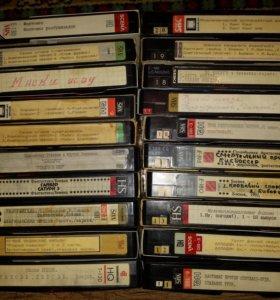 Продам кучу видеокассет и дисков