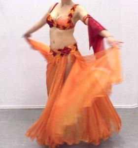 Костюм для восточных танцев, танцев живота
