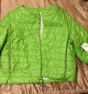 Новая демисезонная куртка Италия 44-46-48