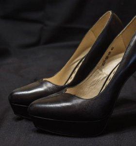Туфли кожаные Dino Ricci 40 размер