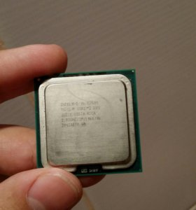 Процессор Intel core2duo e7500