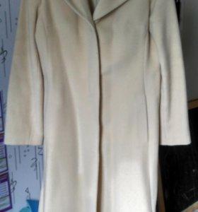 Пальто кашемир 48 размер