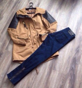 Парка/джинсы