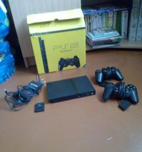 Игровая приставка PS2 + игры