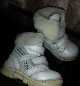 Зимняя Обувь для девочки 21 размер