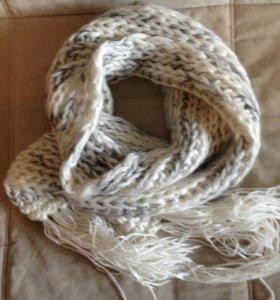 Новый шарф из мохера