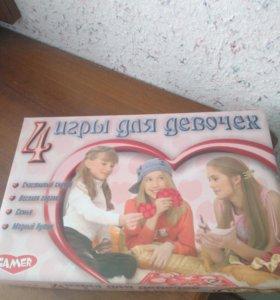 4 игры для девочек