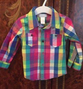 Рубашка Детская на 12 месяцев