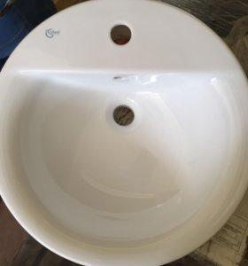 Раковина врезная  диаметр 46см новая
