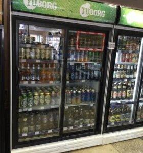Холодильные шкафы + витрины
