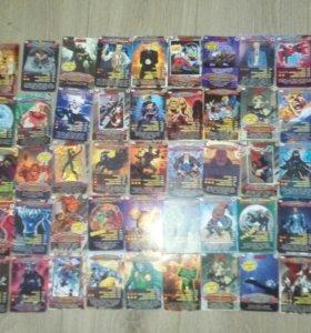 Карточки Человек паук
