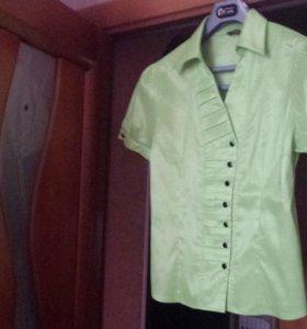 НОВАЯ блузка 48-50р-р