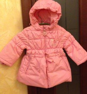 Демисезонное утепленное пальто 80 р.