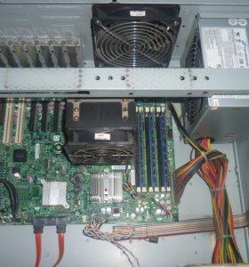 Системный блок - сервер по частям