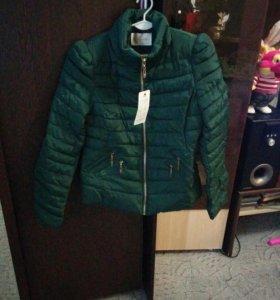 Куртка теплая осень