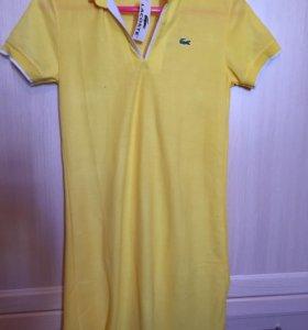 Платье Лакост