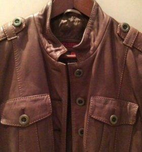 Кожаная куртка Heohit p.42-44