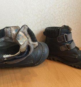 Ботинки р. 25 котофей утепленные