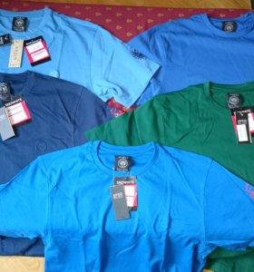 Новые футболки мужские фирменные новые, 52-54