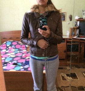 Кожаная куртка Miss Sixty