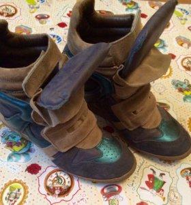 Ботинки на платформе,  Сникерсы Lemare оригинал