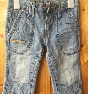 Бриджи джинсовые 110