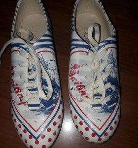 Ботинки нат.кожа 36р