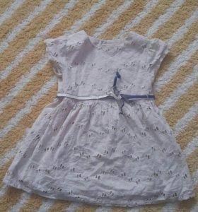 Платье Zara 12-18м