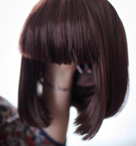 Парик каре, искусственные волосы