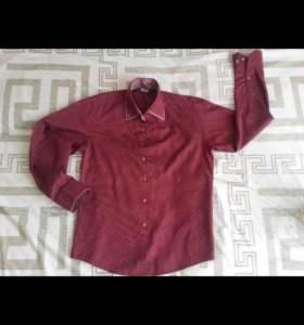 Рубашка с двойным воротником