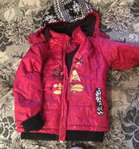 Осенняя куртка на 4-5 лет