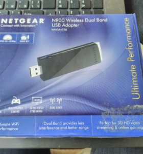 Беспроводной Wi-Fi адаптер NETGEAR N900 (WNDA4100)