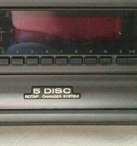Дисковый плеер technics 5 cd