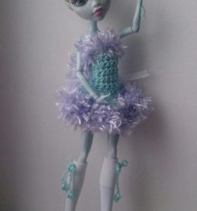 Вязанный наряд для кукол Монстер Хай 💙