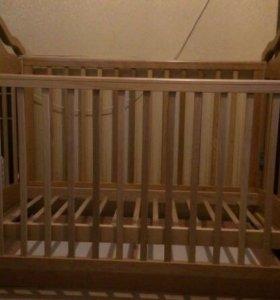 Кровать детская гандылян(качалка)