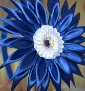 Ободок с цветком