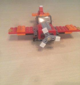Lego самолёт