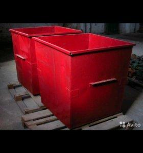 Контейнер для мусора 0.75 куба